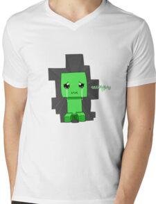 Creeper said sowwy Mens V-Neck T-Shirt