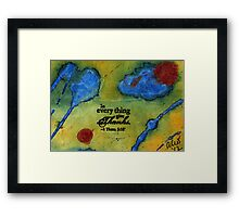 Giving Thanks Framed Print