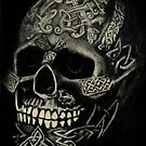 Celtic Skull by Lynn Hughes