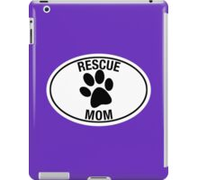 RESCUE MOM iPad Case/Skin