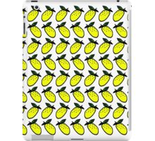 lemon print iPad Case/Skin