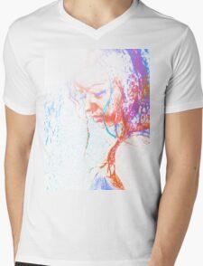 Beauty in the rain Mens V-Neck T-Shirt