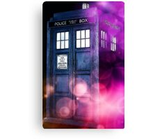 Public Police Box - Dr Who Canvas Print