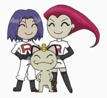 Team Rocket One Piece - Short Sleeve