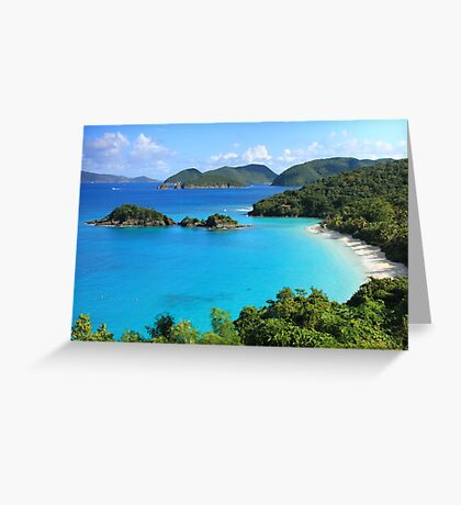 Trunk Bay, St. John USVI Greeting Card