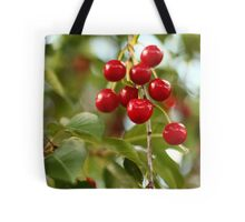 Cherries on the Cherry Tree Tote Bag