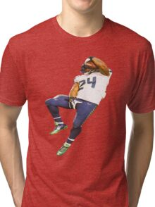 Marshawn Lynch Deez Nuts Tri-blend T-Shirt