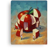 Apple Puzzle by Eric Westbrook Canvas Print