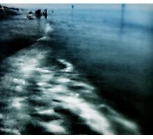 Mysterious Semblance at the Strand of Nightmares Photographic Print