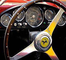 Ferrari 500 Mondial dashboard (1954) by Frits Klijn (klijnfoto.nl)