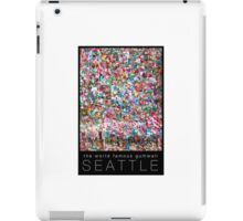 Gum Wall of Seattle # 1 iPad Case/Skin