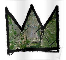 """Basquiat """"King of Philadelphia Pennslyvania"""" Poster"""