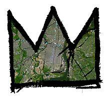 "Basquiat ""King of Philadelphia Pennslyvania"" Photographic Print"