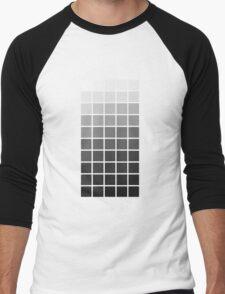 5×10 shades of grey Men's Baseball ¾ T-Shirt