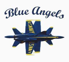 Blue Angels Flight Demonstration Team by Spacestuffplus