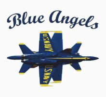 Blue Angels Flight Demonstration Team Kids Tee