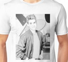 Zack Morris Black and White Unisex T-Shirt