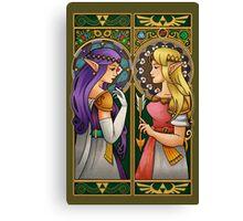 A Link Between Princesses Canvas Print