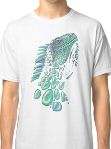 Iguana (soap bubbles) Classic T-Shirt
