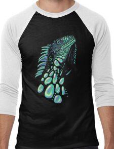 Iguana (soap bubbles) Men's Baseball ¾ T-Shirt