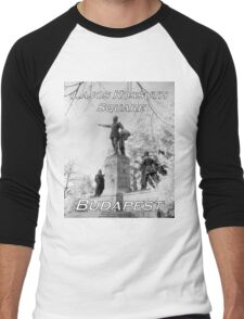 Kossuth Memorial, Lajos Kossuth Square, Budapest Men's Baseball ¾ T-Shirt