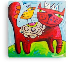 Salsa King Canvas Print