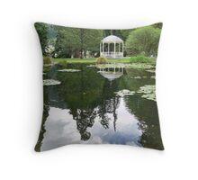 Queenstown Gardens Throw Pillow