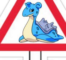 Warning! Lapras Ice! Sticker