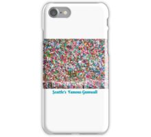 Gum Wall of Seattle # 3 iPhone Case/Skin