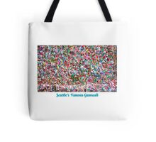 Gum Wall of Seattle # 3 Tote Bag