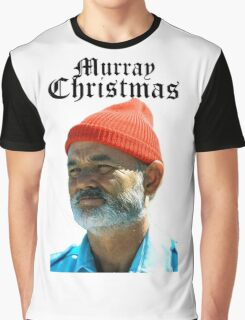 Murray Christmas - Bill Murray  Graphic T-Shirt