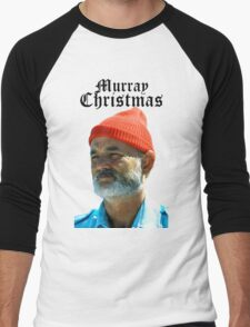 Murray Christmas - Bill Murray  Men's Baseball ¾ T-Shirt