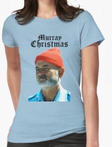 Murray Christmas - Bill Murray  Womens Fitted T-Shirt