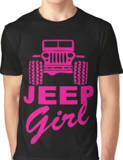 Jeep Girl Graphic T-Shirt