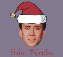 Saint Nicolas Cage Christmas  Kids Clothes
