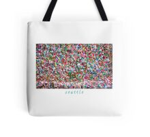 Gum Wall of Seattle # 4 Tote Bag