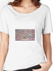 Gum Wall of Seattle # 4 Women's Relaxed Fit T-Shirt