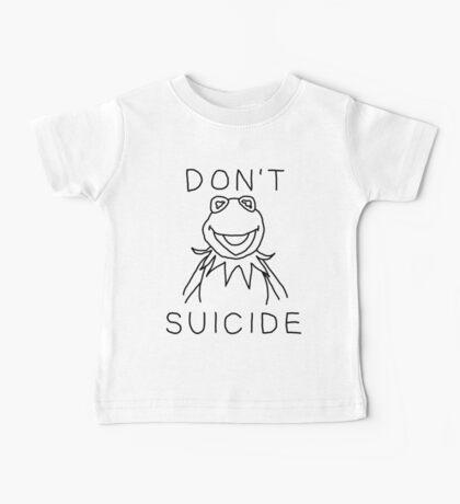 Don't Kermit Suicide Baby Tee