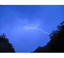 little bolt on a hot day Photographic Print