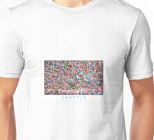 Gum Wall of Seattle # 5 Unisex T-Shirt