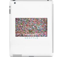 Gum Wall of Seattle # 5 iPad Case/Skin