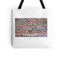 Gum Wall of Seattle # 6 Tote Bag