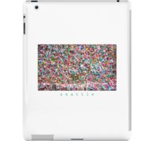 Gum Wall of Seattle # 6 iPad Case/Skin