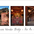 Old Japanese Wooden Bridge - Hoi An Vietnam by Malcolm Heberle