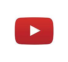 YouTube Play Button by emilysmithart