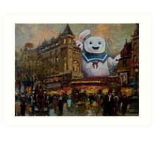 Night on the Town Art Print