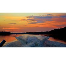 Runnin the River Photographic Print