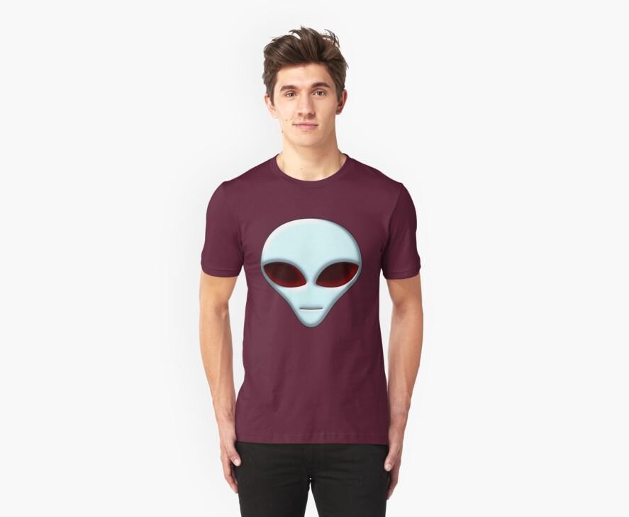 Alien Head 01 by mdkgraphics