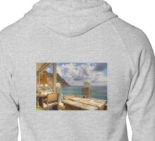 Dining in Paradise Zipped Hoodie