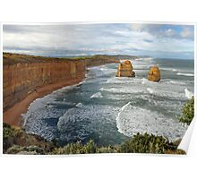 Gibson Steps. Port Campbell National Pk, Victoria, Australia.  Poster